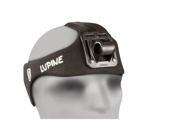 Lupine Stirnband HD Wilma O-Ringhalterung