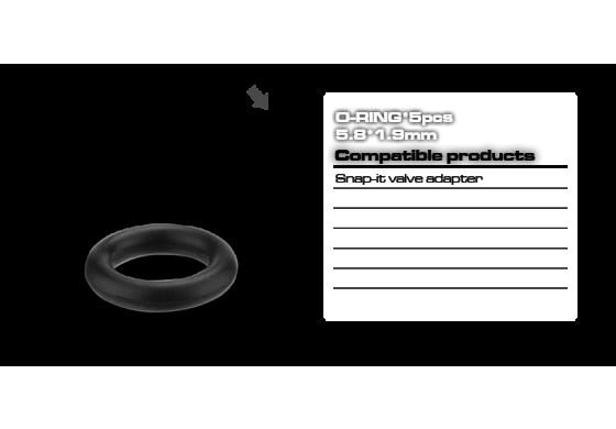 Birzman Air Pressure O-Ring 5,8 x 1,9 mm