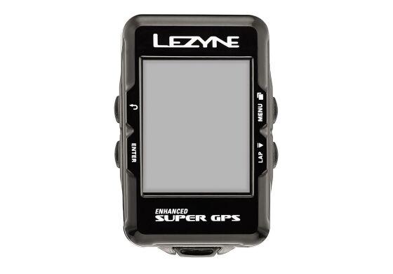 Lezyne Computer Super GPS zzgl. Herzfrequenzmessgerät (Brustgurt)