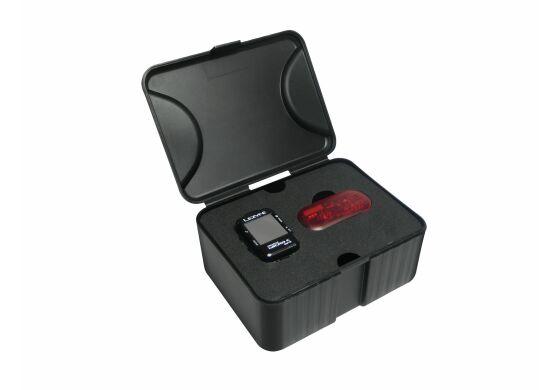 Lezyne Computer Micro GPS inkl. Herzfrequenzmessgerät (Brustgurt)