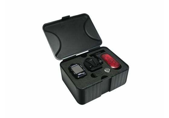 Lezyne Computer Micro GPS Computer inklusive Herzfrequenzsensor und Trittfrequenzsensor