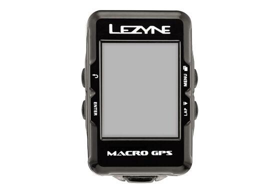 Lezyne Computer Macro GPS inkl. Herzfrequenzmessgerät