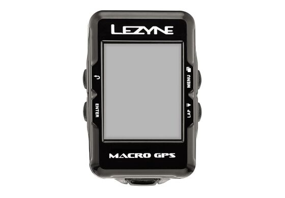 Lezyne Computer Macro GPS inkl. Herzfrequenzmessgerät + Speed und Cadence Sensor