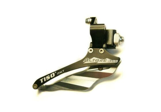 TISO Altore 366 Umwerfer f Shimano Road Compact gold