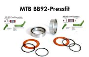 BOR Innenlager Kit BB92 (BB92+90 Pressfit)