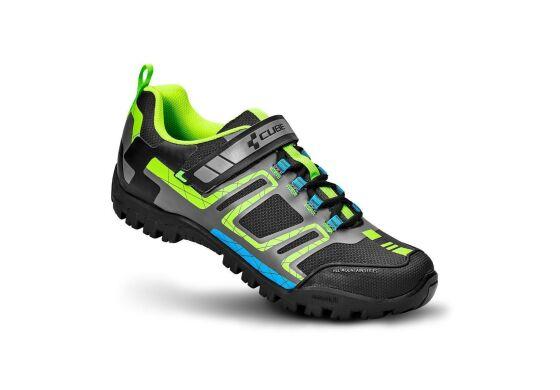 CUBE Schuhe ALL MOUNTAIN / black´n´green´n´blue
