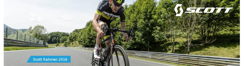 Die neusten Scott MTB und Rennradrahmen f�r die Saison 2016