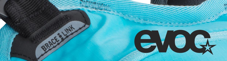 Evoc XC und Freeride bzw Enduro Rucksäcke mit Protektoren
