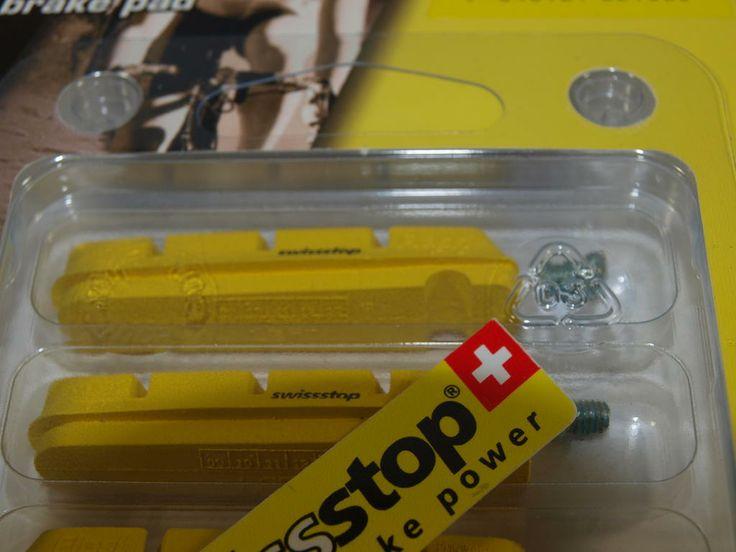 Swissstop Bremsbeläge für Carbon Felgen Shimano kompatibel